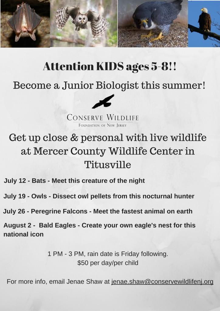 Mercer County Wildlife Center FLyer